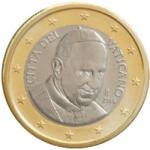 1 euro 2014 vaticano