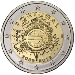 2 euros portugal 2012