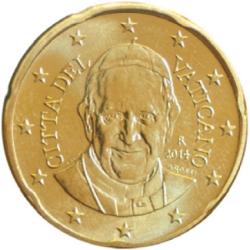 20 centimos 2014 vaticano