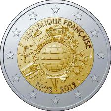 comemorativa 2012 frança