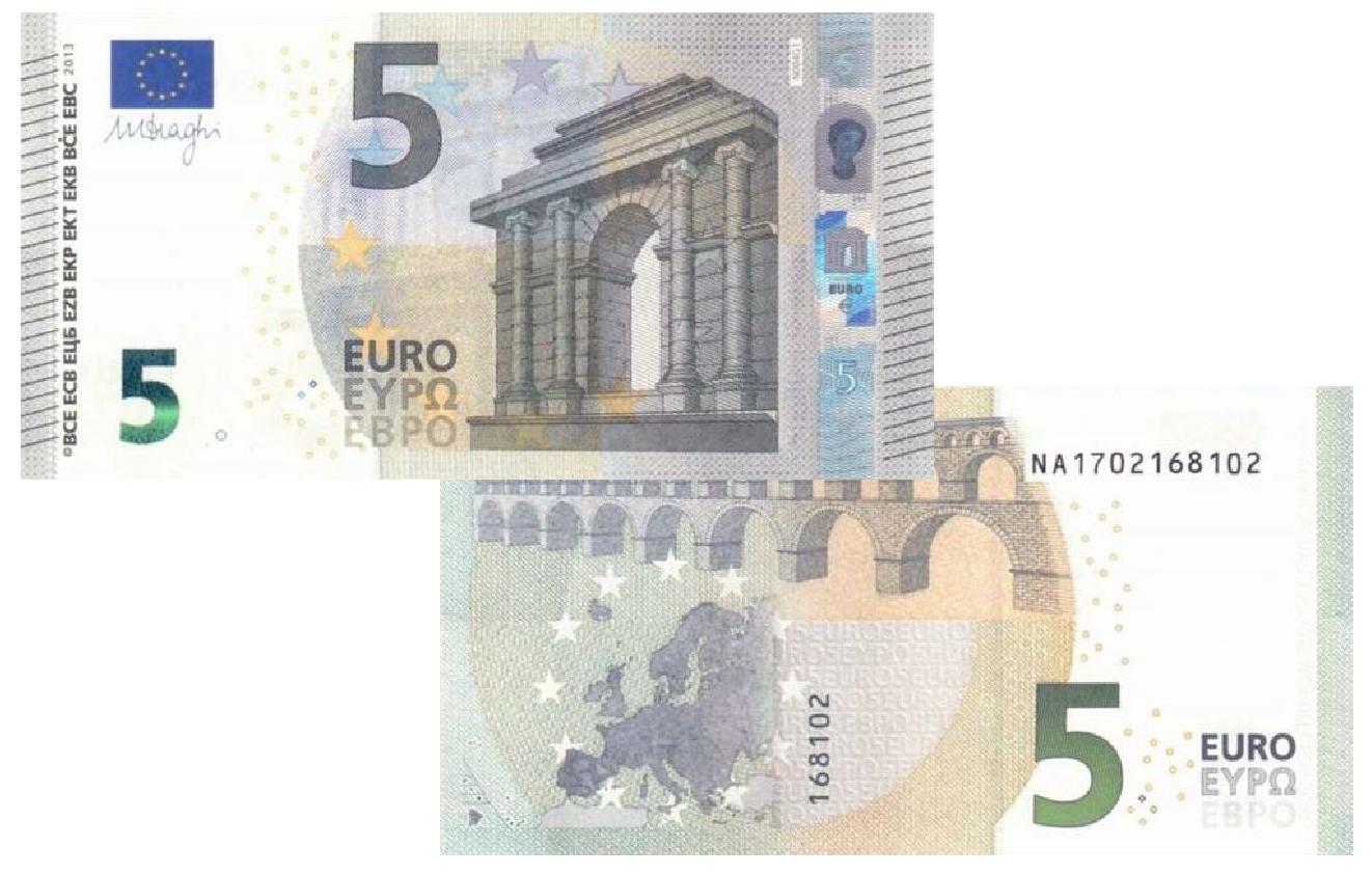5 euros nova serie europa